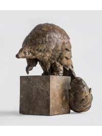 Ground Pangolin Maquette by Pangolin Designs