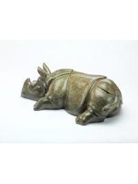 Asian Rhino by Michael Cooper