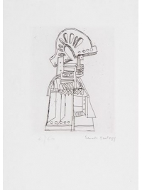 Untitled 1962 by Eduardo Paolozzi
