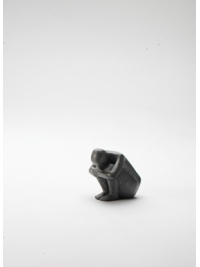 Miniature Crouching Figure by Terence Coventry
