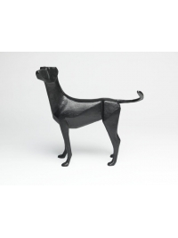Small Standing Dog I by Terence Coventry