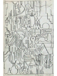 Untitled by Eduardo Paolozzi