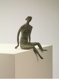 Seated Girl 2 by John Bridgeman