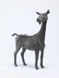 Goat I Maquette by Terence Coventry