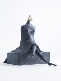 Maquette VII Sitting Woman by Lynn Chadwick