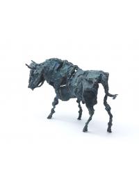 Glaring Bull by Deborah van der Beek