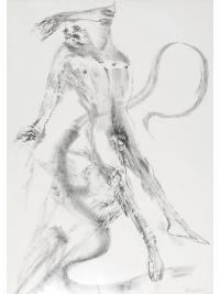 Spinning Man V by Elisabeth Frink