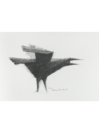 Study for Avian Form by Terence Coventry