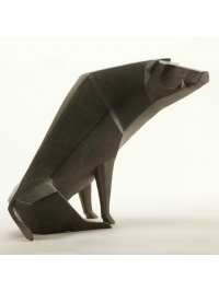 Sitting Boar Maquette by Terence Coventry