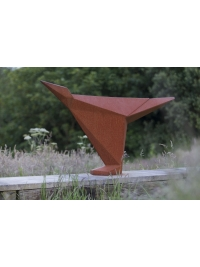 Corten Bird I by Terence Coventry