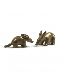 Aardvarks (Mother and Child) by Anita Mandl
