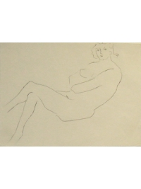 Nude Study 15 by John Bridgeman