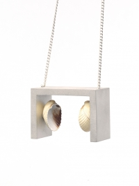 Cockle Shell Pendant by Alastair Mackie