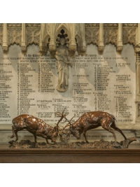 Red Deer Stags 'The Duel' by Nick Bibby