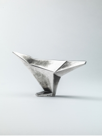 Silver Avian Form I by Terence Coventry