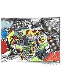 Untitled Collage II by Eduardo Paolozzi