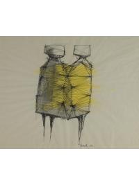Two Watchers by Lynn Chadwick