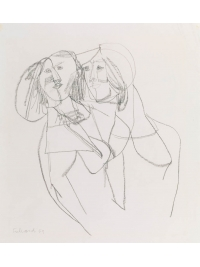 Two Women by George Fullard