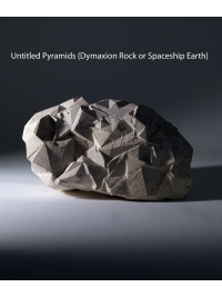 Untitled Pyramids (Dymaxion Rock or Spaceship Earth) by Gavin McClafferty