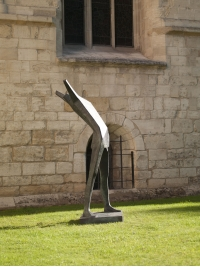 Monumental Vital Man VI by Terence Coventry