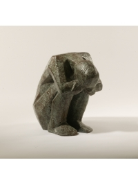 Crouching Figure by Terence Coventry