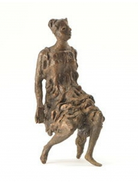 Seated Girl 3 by John Bridgeman