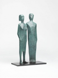 Standing Couple by Terence Coventry