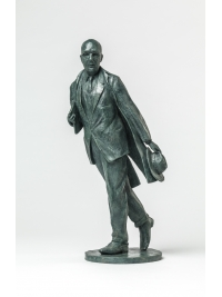Phillip Larkin Maquette by Martin Jennings