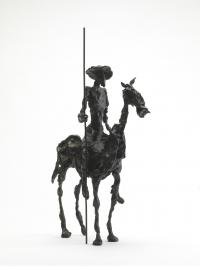 Don Quixote Sketch by Deborah van der Beek