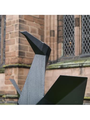 Monumental Steel Cormorant I