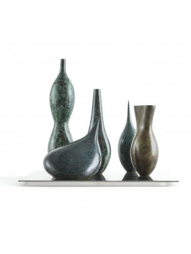Five Vessels maquette