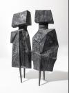 Maquette XI Two Watchers V by Lynn Chadwick