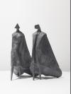 Walking Cloaked Figures II by Lynn Chadwick