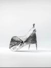 Girl Walking Into Wind by Lynn Chadwick