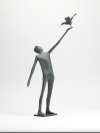 Man Releasing Bird by Terence Coventry